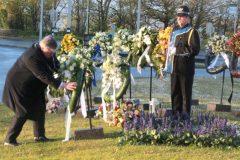 4 mei herdenking in Nijmegen. Foto's Eric van Haalen.