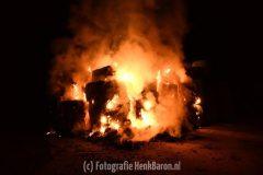 Brand hooibalen SBB in Ooij deel 1