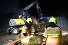 Brand hooibalen SBB in Ooij deel 2