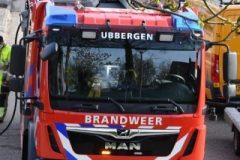 Brandweer in actie voor gaslek in Ooij