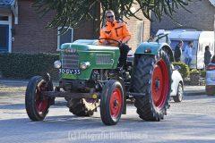 Han van den Brink 60 met eerbetoon van tractorclub Millingen