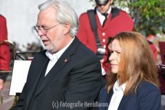 Herdenking omgekomen Amerikaanse  piloten in Kranenburg