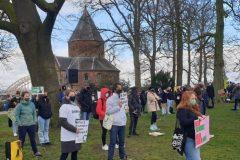 Klimaatdemonstratie in Nijmegen