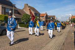 Koningschieten Leuth. Foto's Frans Bootsma