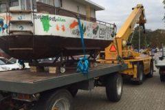 Leerlingen van montessoricollege- in Groesbeek bouwden een boot