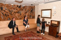 Opening tentoonstelling The Mistery in  Infocentrum WO2