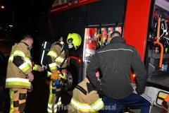 Schoorsteenbrand in Beek