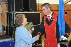 Zilveren kroon voor Anneke Baron