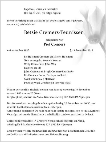 Betsie_Cremers