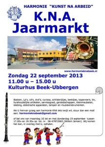 KNA Boekenmarkt 2013