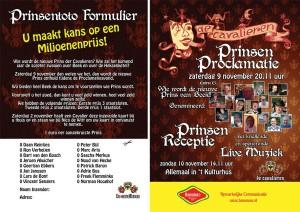 Prinsenproclamatie  Beek 2013