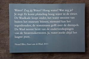tekstfragment Faust aan de Waal