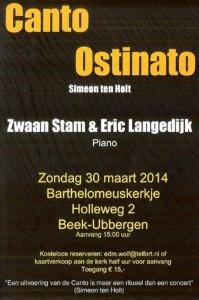 Affiche Canto Ostinato concert 30 maart 2014 001 a (Medium)