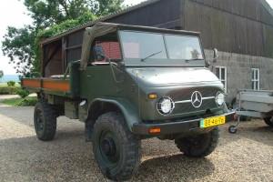 oldtimer legerwagen Piet (Large)