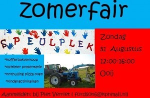 zomerfair 2014 flyer