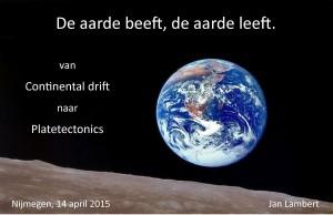 Flyer 2015-04-14 De aarde beeft de aarde leeft