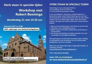 Red ons Kerkgebouw 21 mei workshopflyer
