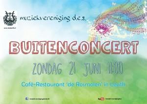 Buitenconcert 2015 poster