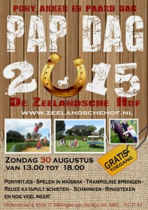 Zeelandsche Hof flyer Papdag 2015
