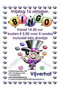 Bingo 16 oktober