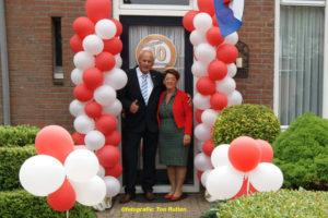 Theo en Harianne Lamers 40 jr naam